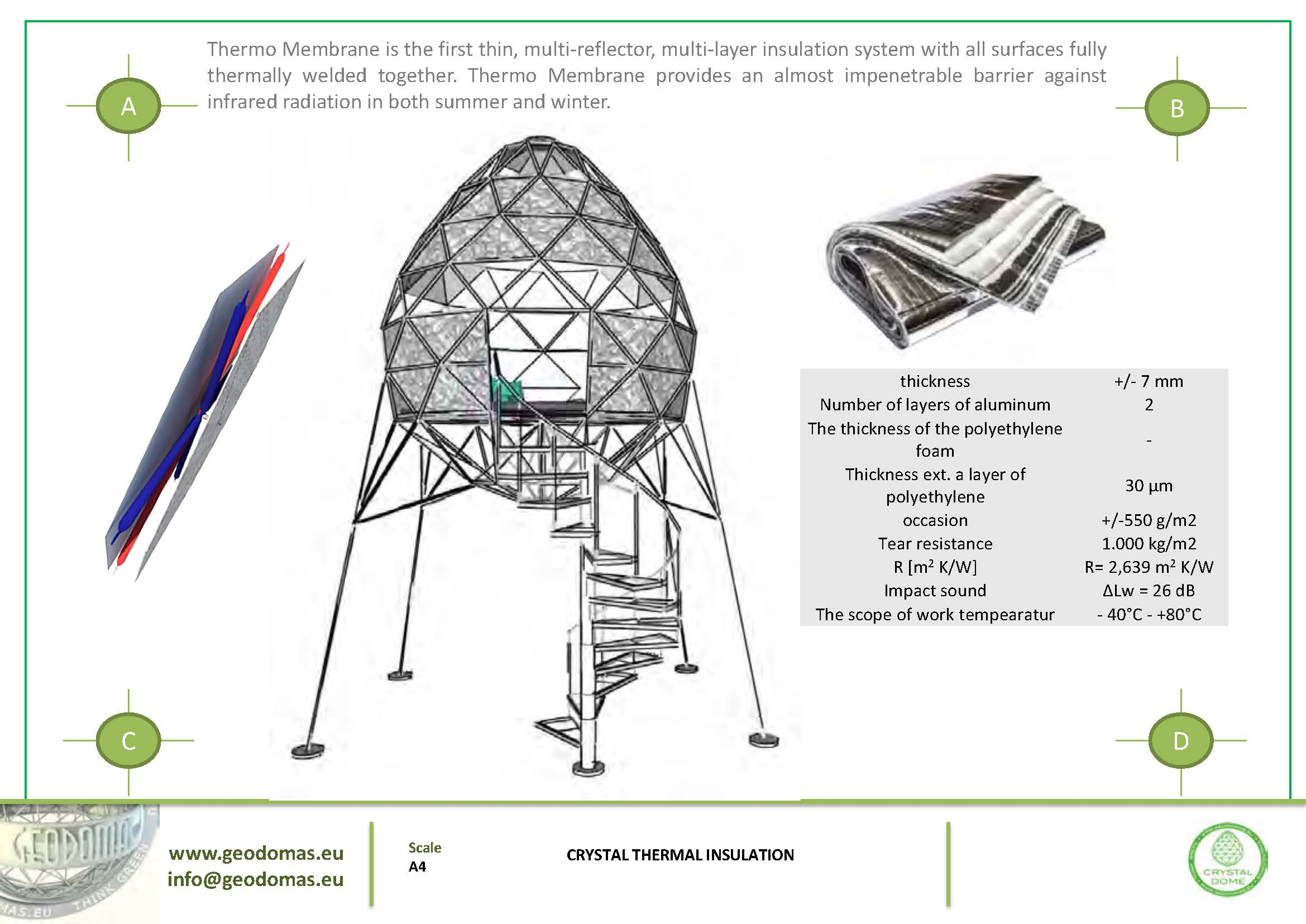 7m2 Crystal TREE aux allures futuriste |  Pour se rapprocher des étoiles