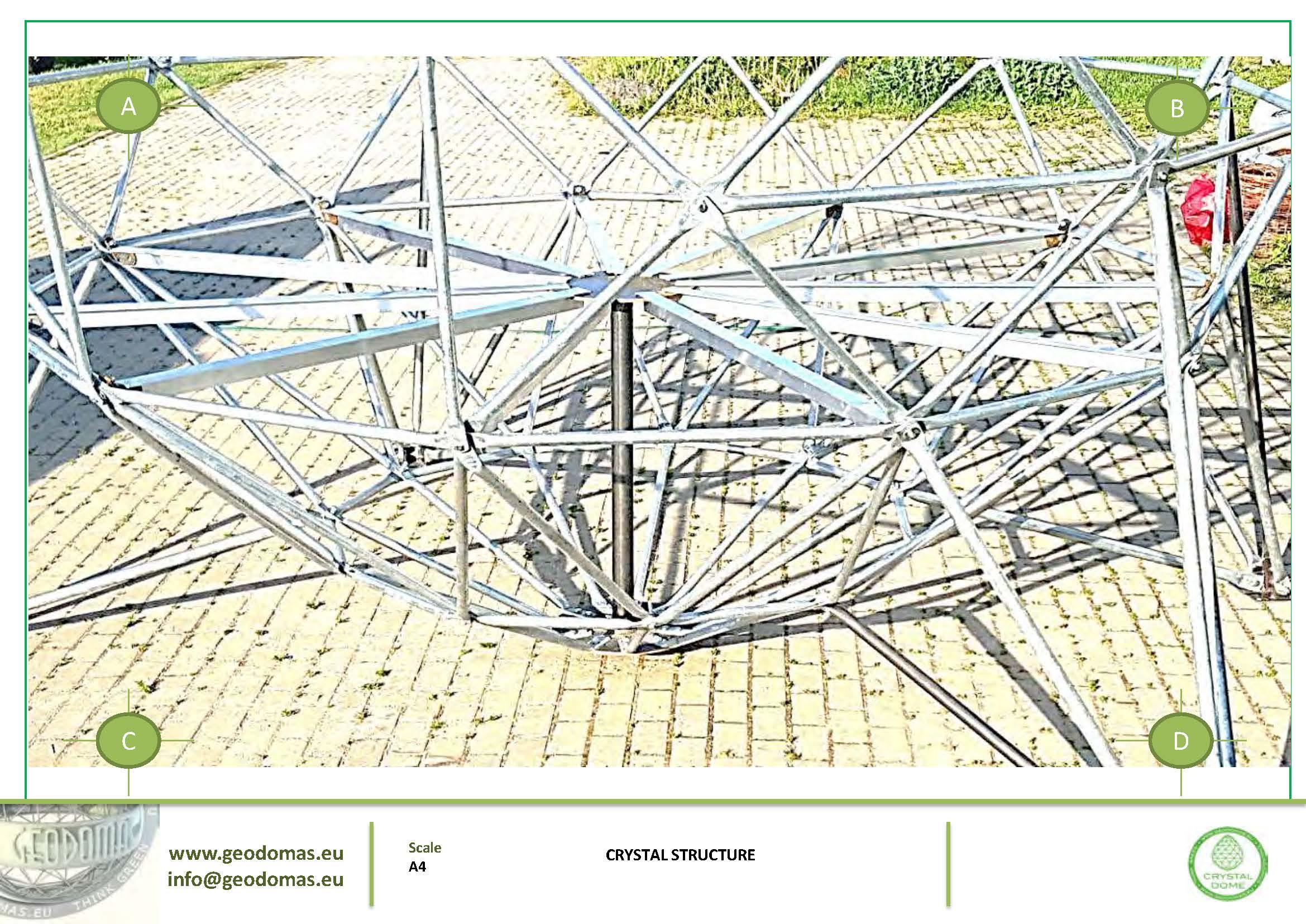 Crystal Dome aux allures futuriste | Pour se rapprocher des étoiles