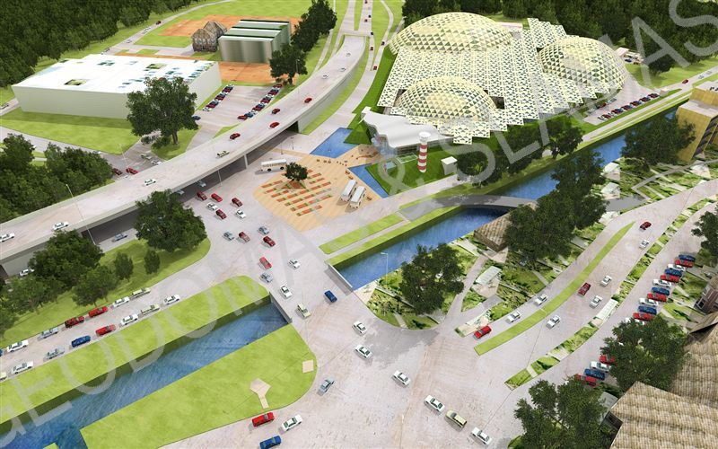 Cover Concept For Madurodam Miniature Park in Holland
