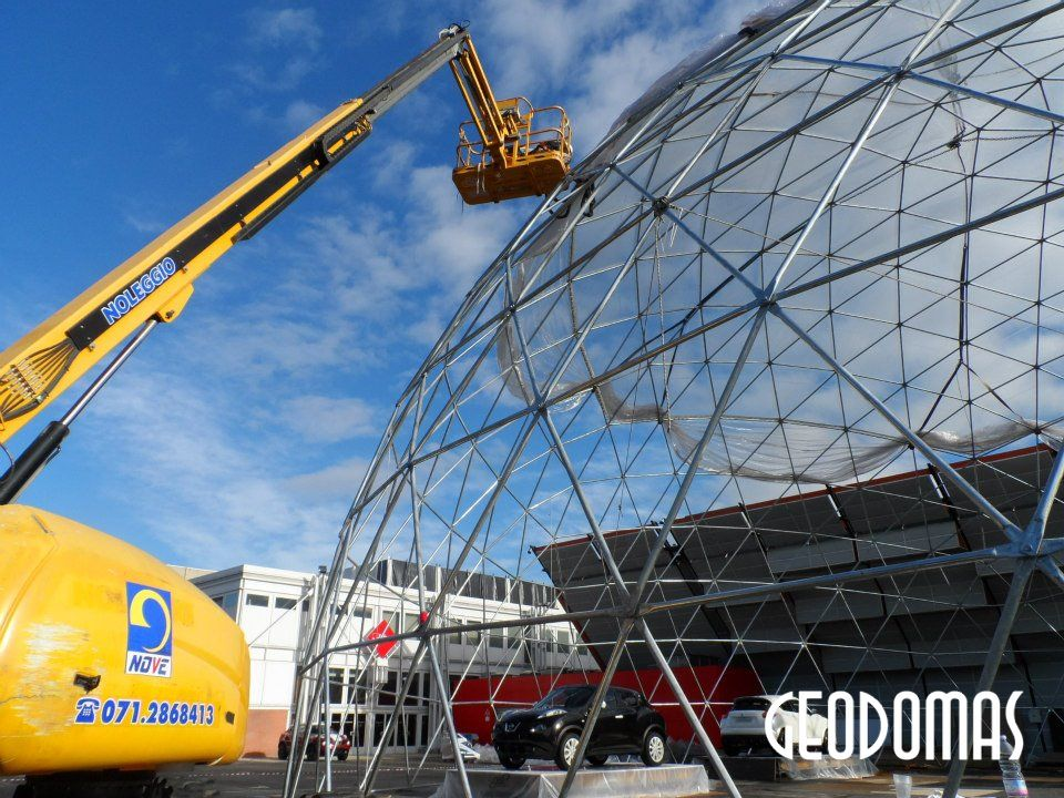 Ø28m H14m DOME for NISSAN JUKE TOWN PARTY feat M2O