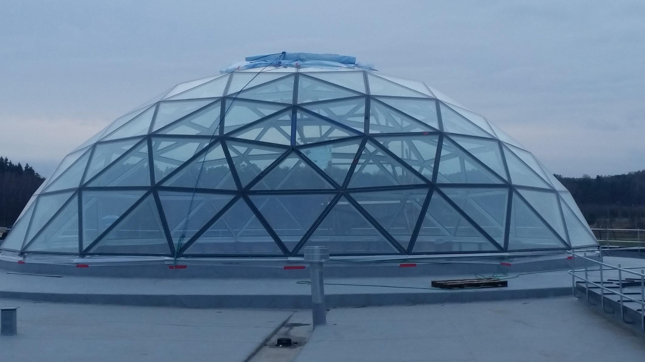 Vytautas Mineral SPA Sanatorium | Geodesic Roof Dome