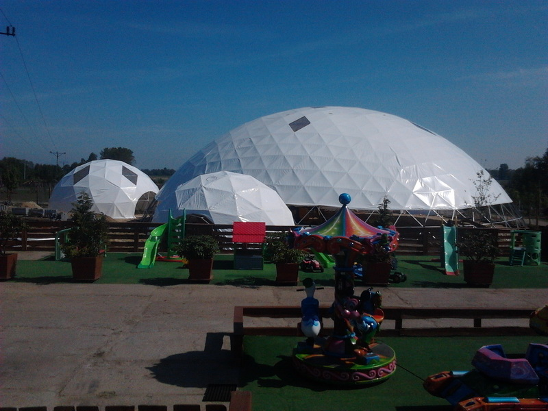 Zoo Safari Borysew @ Big Geodesic Domes Ø34m H12m
