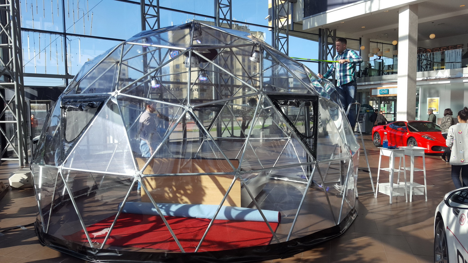 DORMEO Transparent Dome Ø6m @ ExtremeDelight