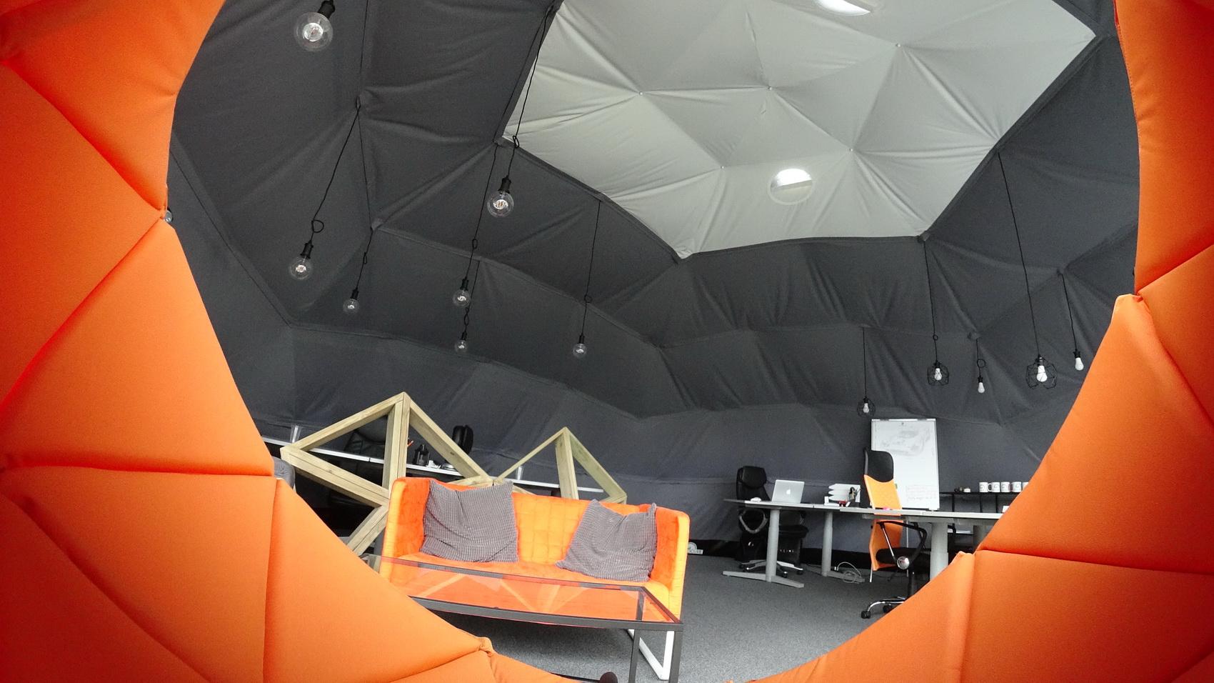50m² Glamping Work Studio Ø8m |  Vilnius, Lithuania