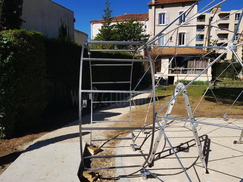 Dôme pour réunion d'affaires – Romans sur Isère | DOME Ø6m F3 30m2
