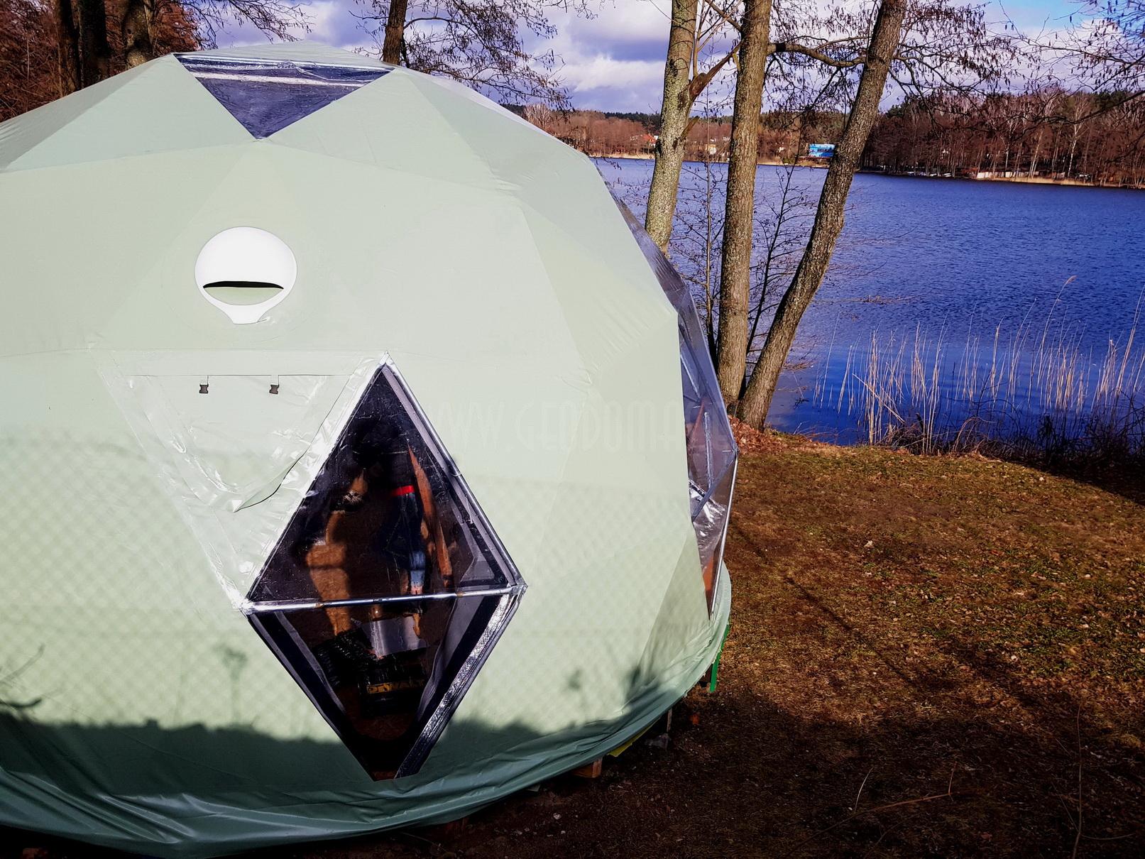 Géo-maison Dome 25m2 Ø5m F3 | Poland, Olsztyn