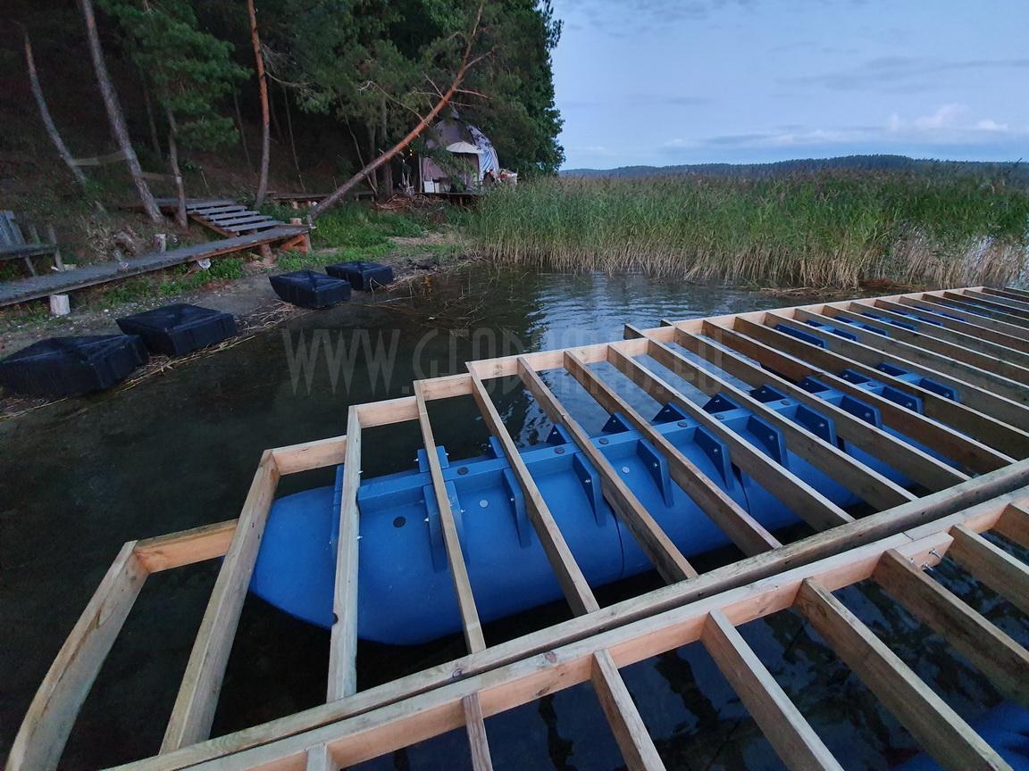 Floating Glamping Dome 27m2  |  Recreational craft , Trakai