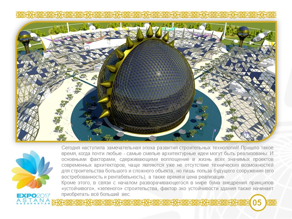 Our ideas and formed Circular city model | Futuristic city  Expo 2017