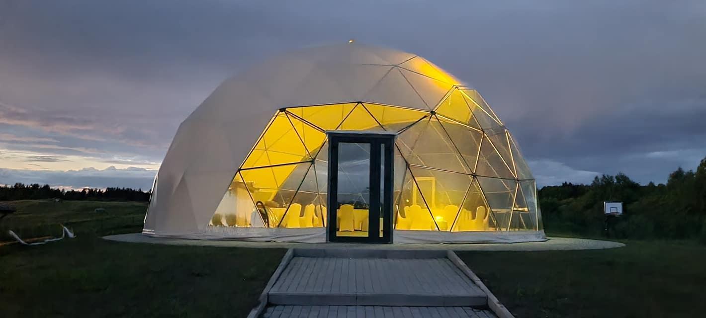 95m2 Wedding Event Dome Ø11m   MEDA HOUSE, LT
