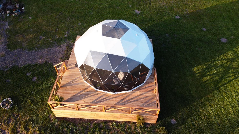 28m² Glamping Dome Ø6m  | Hotel Asimarė, LT