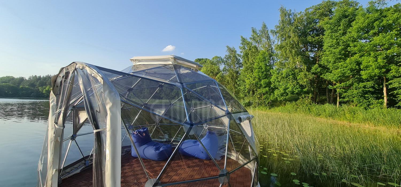 12m2 Fisherman's Dome Ø4m Panoramic | Pakaso Sodyba, LT