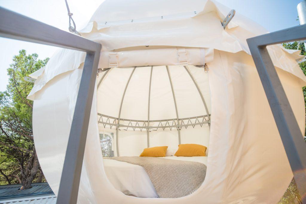 Cocoon Village   Medora Orbis camping & glamping